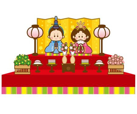 Hinamatsuri Stock Illustratie