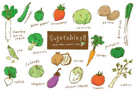 Vegetable a la carte
