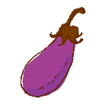 Eggplant vegetable Illustration
