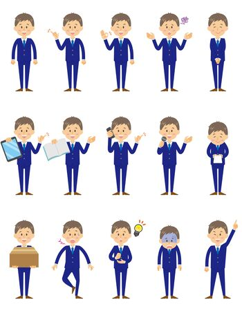 Businessman Ilustrace