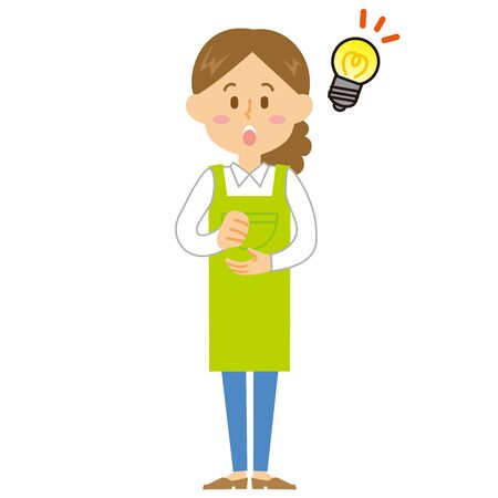 Housewife idea Illustration