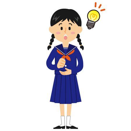 Women's Junior High School Student idea