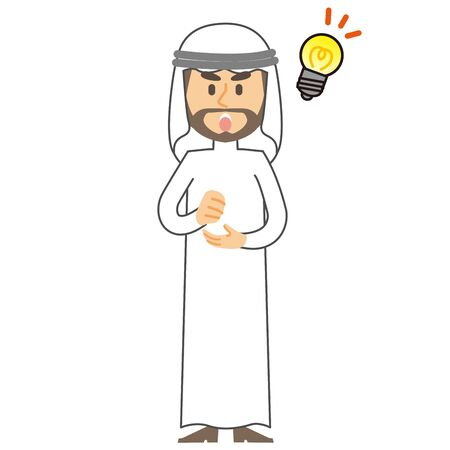 Arab Man idea