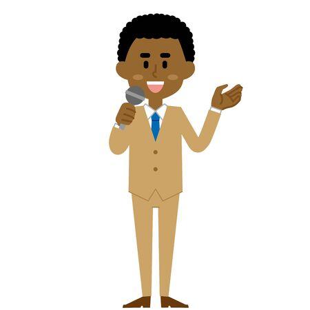 African Businessman Speech