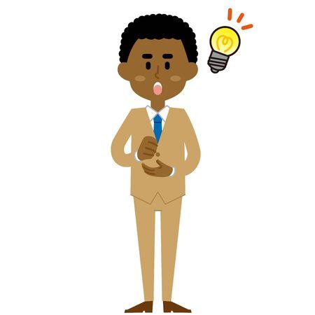 African Businessman idea