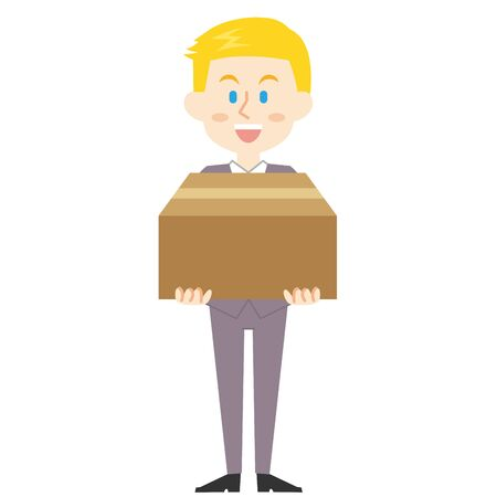 American Businessman Cardboard