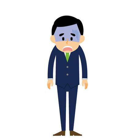 Businessman Shock