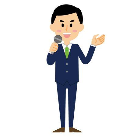 businessman speech