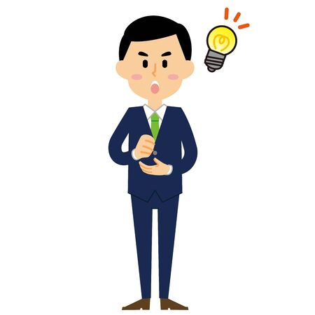 businessman idea 向量圖像