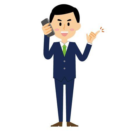 Businessman Smartphone