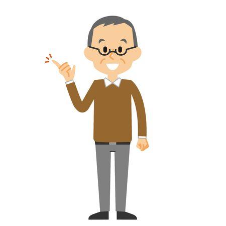 grandfather suggestion Ilustração