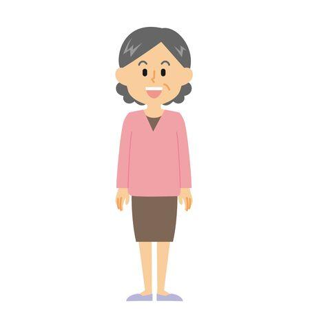 Grandmother Smile
