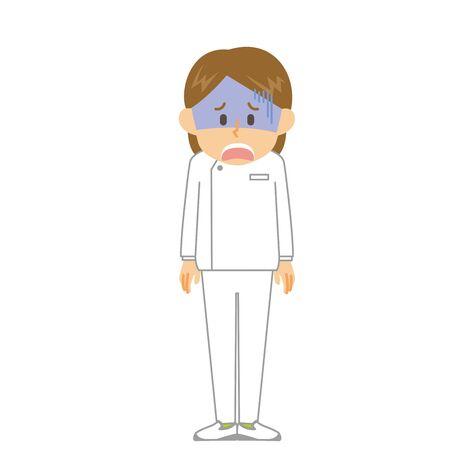 Caregiver Woman Shock