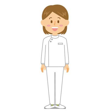Caregiver Woman smile