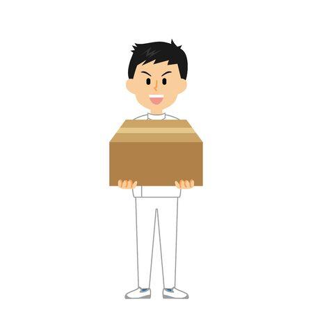 15 Series_Caregiver Men_Cardboard