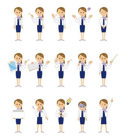 15 Series_Women in Formal Dress Illusztráció