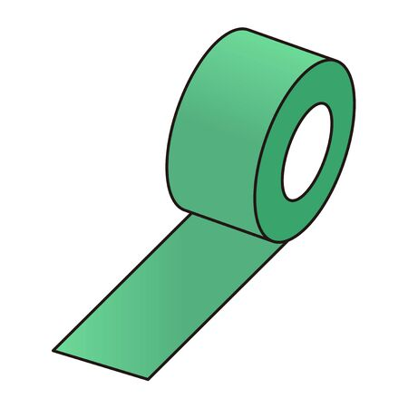 Green curing tape