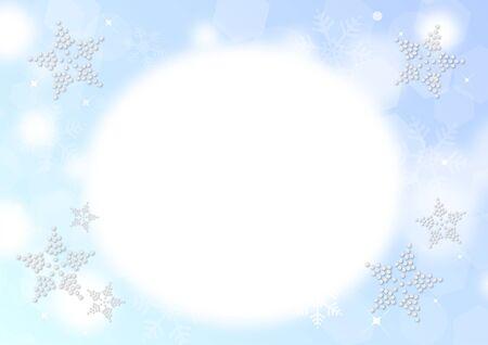 Winter Snow Background Stok Fotoğraf