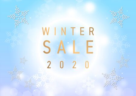 Winter Snow Winter Sale Poster