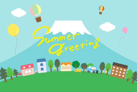 Summer Greetings for Summer Visits