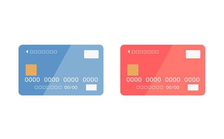 Credit card image 矢量图像