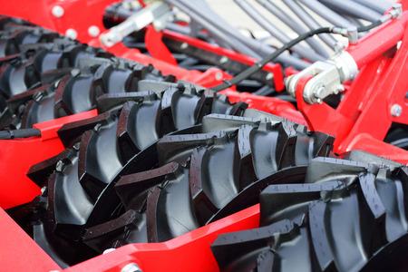 Nieuwe onderdelen van landbouwmachines, banden met grote diameter.