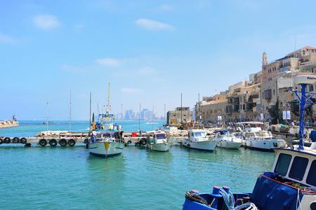 TEL AVIV, ISRAEL - APRIL, 2017: Old Port Jaffa at noon.