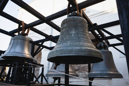 Bells from the belfry of the St. Sophia Cathedral in the ancient Kremlin.