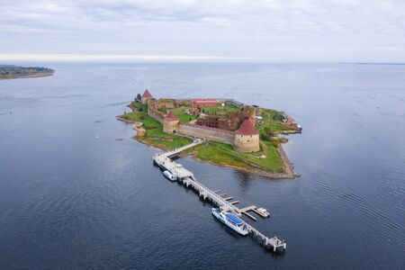 Castle Nut in Schlisselburg, Saint-Petersburg, Russia