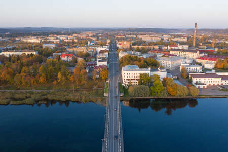 Sortavala, a popular Karelian town near Finland. The center of northern Russian nature, Lake Ladoga, marble quarries.
