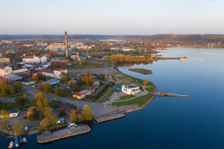 Marina in Sortavala. The departure point for boats to the Ladoga skerries.