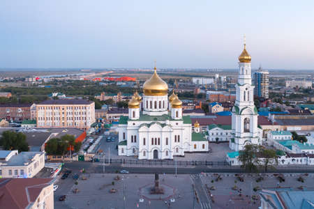 Cathedral of the Nativity of the blessed virgin Mary, Rostov-on-Don, panorama
