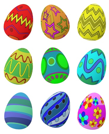 colored egg: Easter Eggs