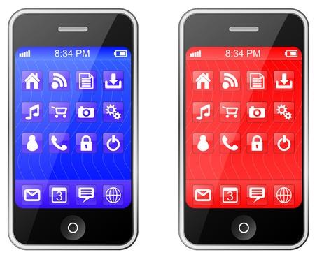 telefon: Komórkowy, telefon komórkowy lub Smart Phone