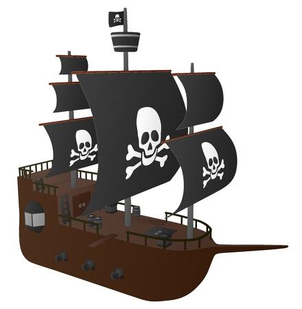 drapeau pirate: Pirate Ship
