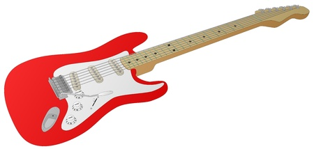 Electric Guitar (Red)