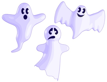 A set of 3 Ghosts.