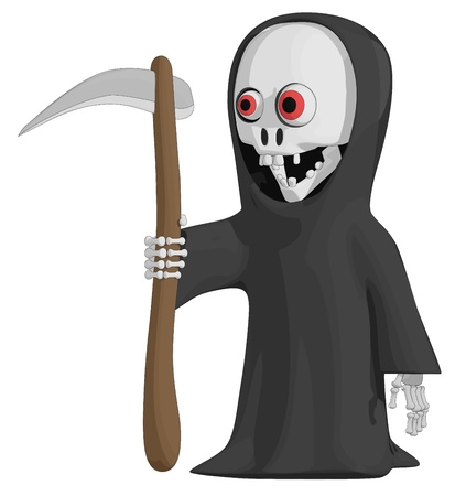 The Grim Reaper Banque d'images - 15933203