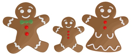 gingerbread: Gingerbread Family