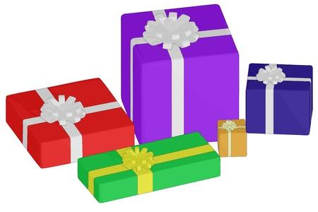 Christmas Presents Ilustração