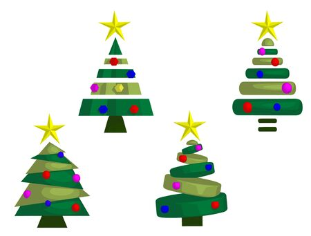 Christmas Trees (Abstract)