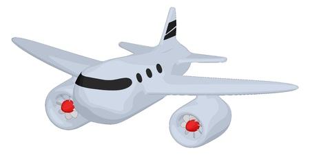 Jumbo Jet Ilustração
