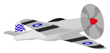air show: World War 2 Fighter