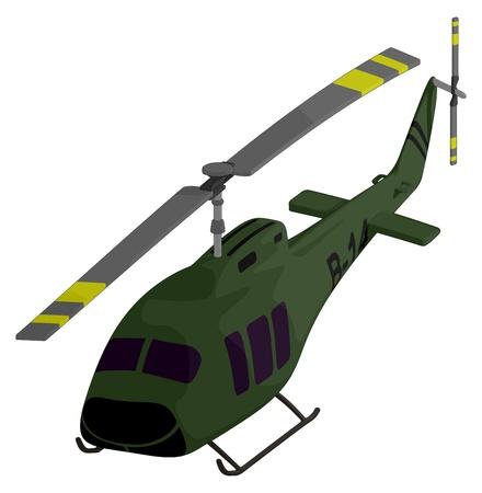 Helicóptero (de Rescate) Ilustraciones Vectoriales, Clip Art ...
