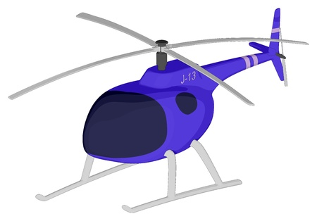 Helicopter Stock Vector - 17561619