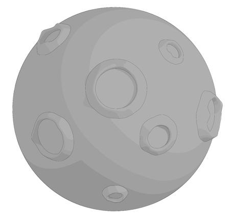 Moon Ilustrace