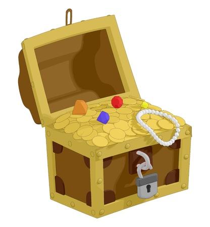 Pirate Treasure Stock Vector - 17968742