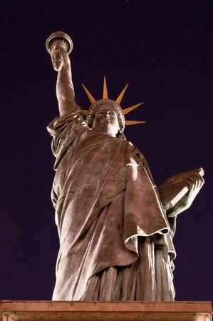 enlightening: Liberty enlightening the world, Statue of Liberty - Paris, France