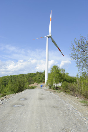 megawatt: wind turbines. Italia, Europa.