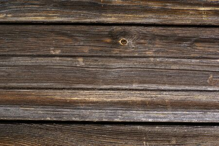 wood textures: Weathered wooden background. Stock Photo